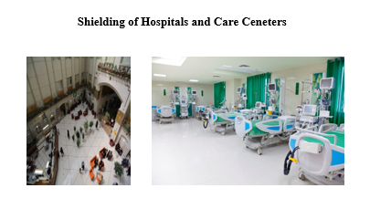 shielding of hospitals and care center
