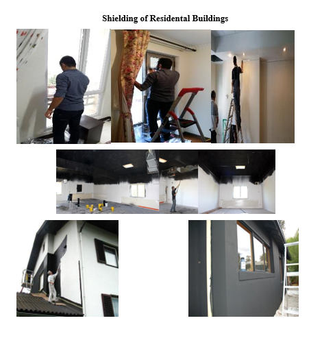 shielding of residential building
