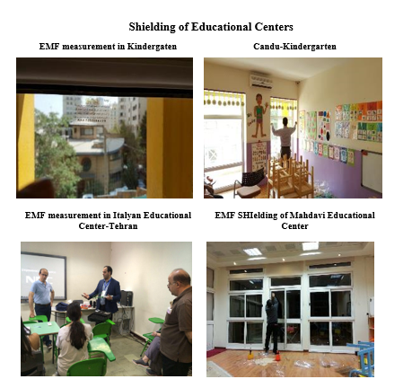 shielding of educational center