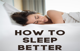 how to sleep better