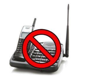 خطر امواج الکترومغناطیس منتشر شده از تلفن بی سیم