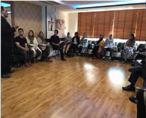 برگزای دوره آموزشی ایمن سازی در برابر امواج الکترومغناطیسی برای مادران باردار در مرکز مشاوره و خدمات مامایى سلامت مادران