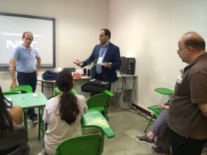 آموزش ایمن سازی در برابر امواج الکترومغناطیسی در مدرسه سفارت ایتالیا