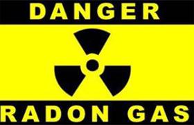 خطر گاز رادون